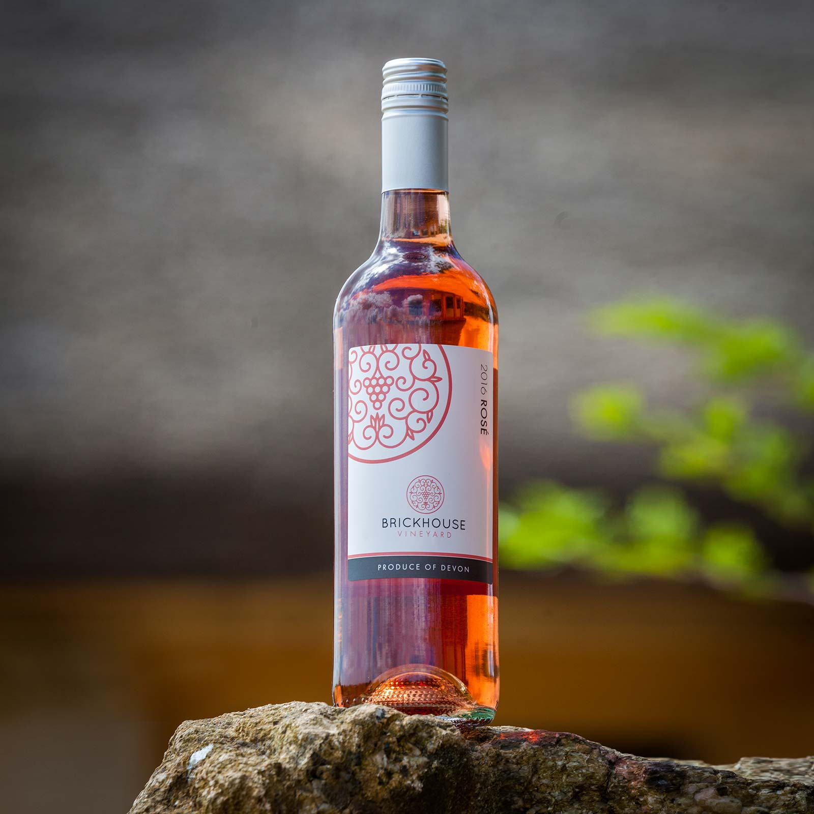 Brickhouse Vineyard English rosé wine