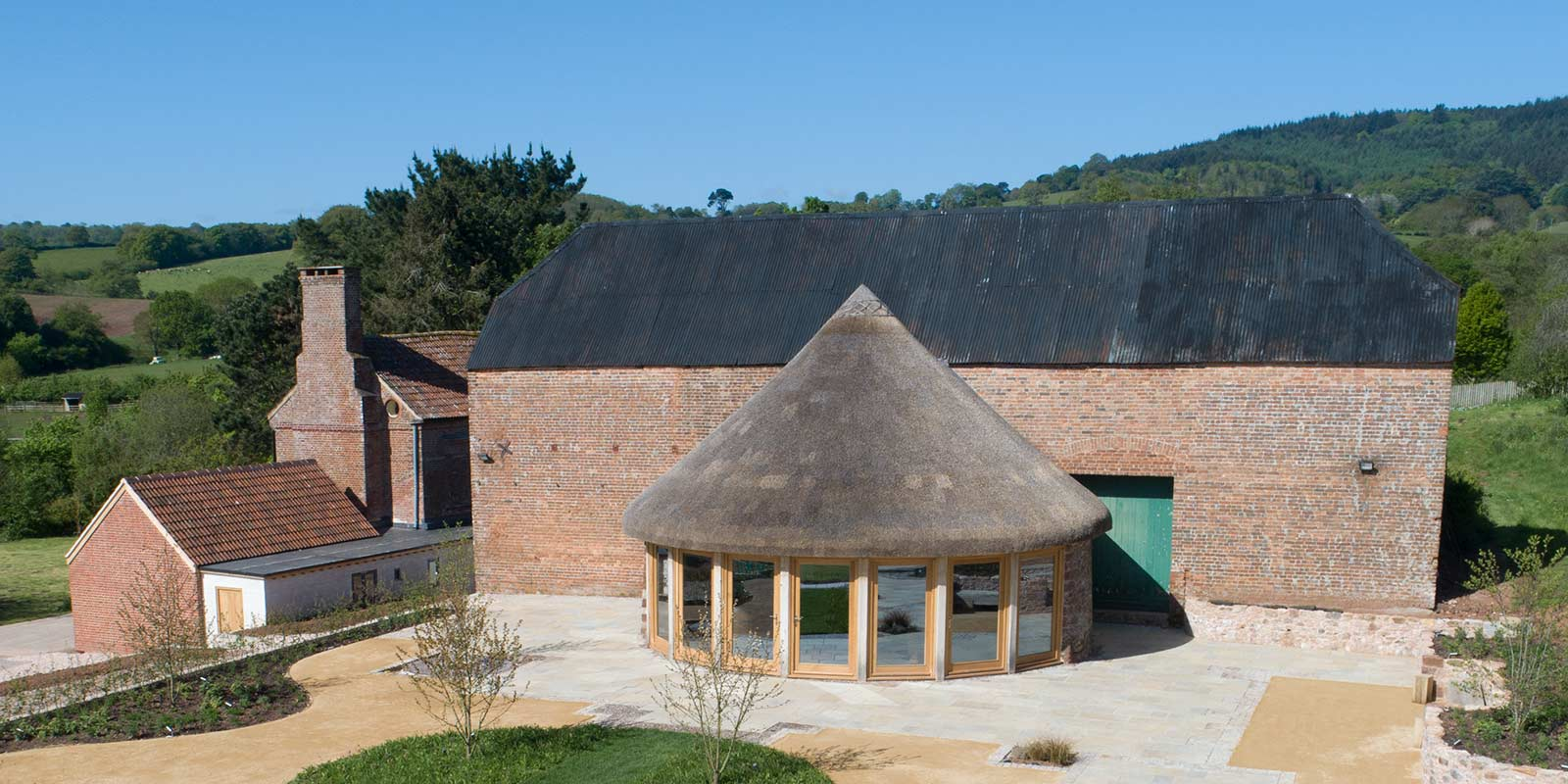 The round house – Brickhouse Vineyard, Devon