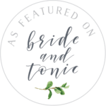 Bride & Tonic - As Featured Badge