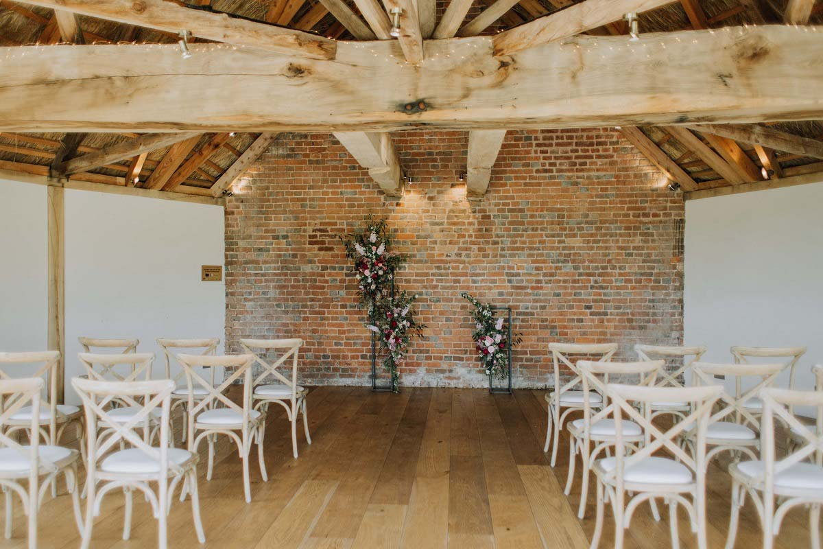 Inside Cheap Wedding Venue Devon