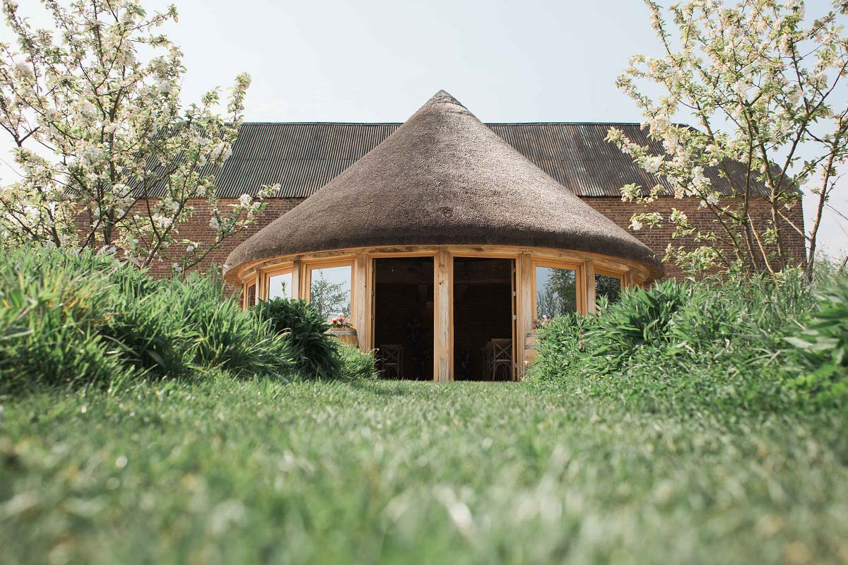 The Round House, Brickhouse Vineyard, Devon