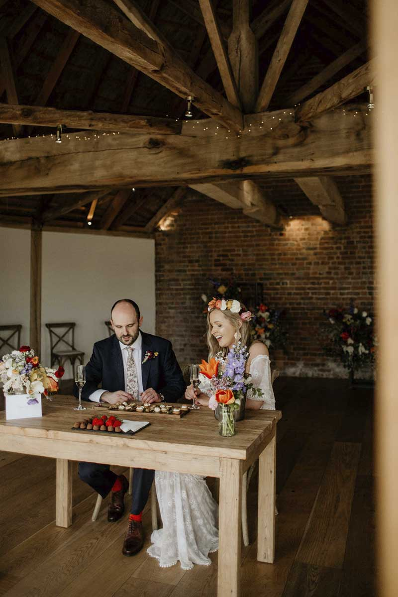 Weddings just for 2 in the roundhouse