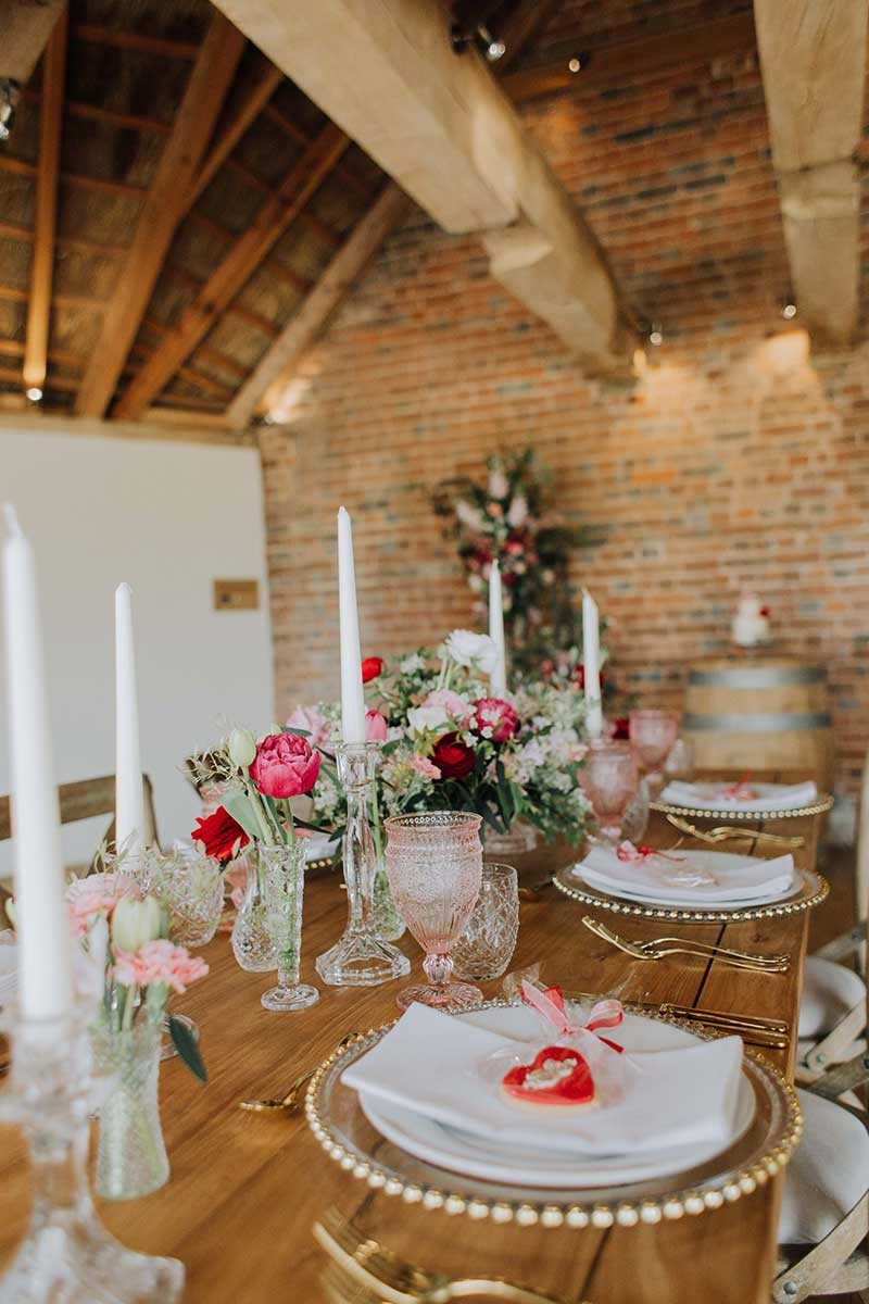 Small wedding packages dining in the roundhouse